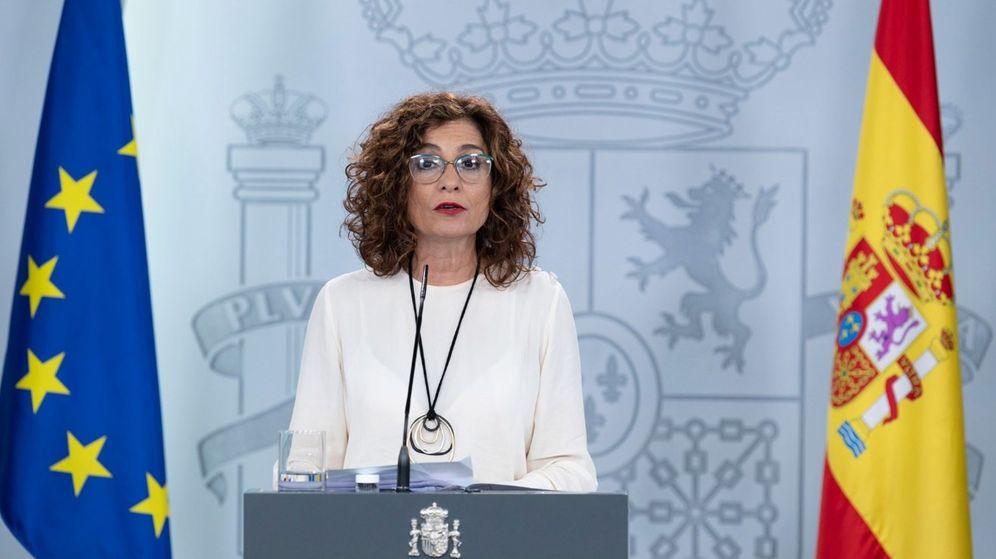 Foto: La ministra de Hacienda, María Jesús Montero, en una comparecencia. (EFE)