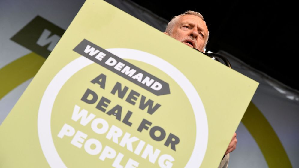 Foto: El líder del Partido Laborista, Jeremy Corbyn. (Reuters)