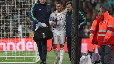 Día gris en el Real Madrid pensando en el Barcelona: preocupante lesión de Hazard, y Bale y Marcelo tocados