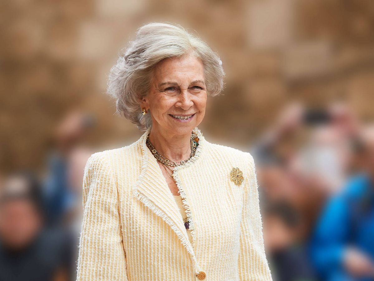 Foto: La reina Sofía. (LP)
