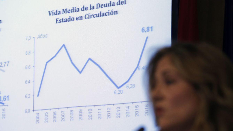 Foto: La secretaria de Estado del Tesoro, Emma Navarro (Efe)