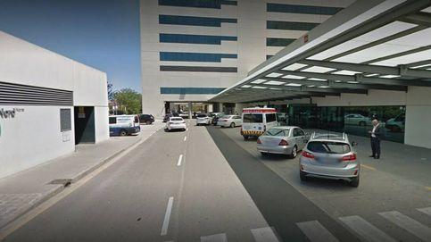 Cuatro personas atropelladas en un accidente en la avenida del Puerto de València