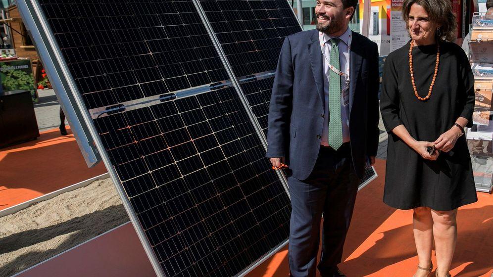 Foto: La ministra de Transición Ecológica, Teresa Ribera, ya había advertido de que quería derogar el impuesto al sol. (EFE)