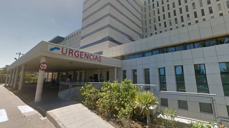 Foto: La mujer acudió a las Urgencias del Hospital Insular de Gran Canaria. (Foto: Google Maps)
