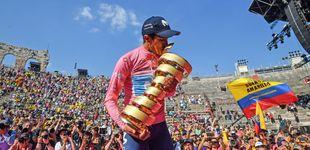 Post de Movistar pierde a uno de sus líderes: Richard Carapaz, baja en la Vuelta por una caída