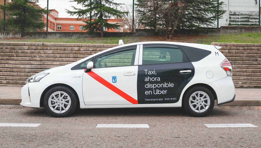 Foto: Taxis disponibles en Uber. (Foto: cedida)