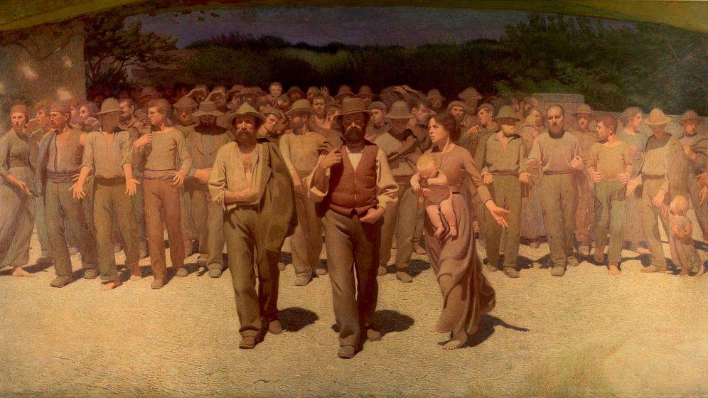 Foto: 'El cuarto estado', de Giuseppe Pellizza da Volpedo (1901)
