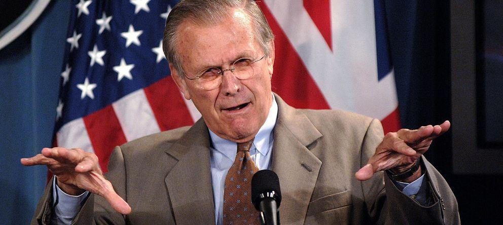 Foto: El exsecretario de Defensa Donald Rumsfeld, en una imagen de archivo (Gtres)