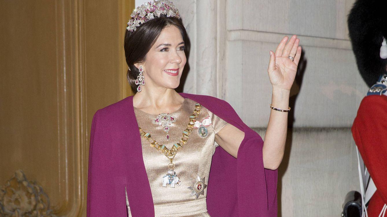 Foto: La familia real de Dinamarca empieza el 2017 con una cena de gala