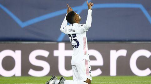 Rodrygo saca de la agonía al Real Madrid con un gol que lo deja vivo en la Champions (3-2)