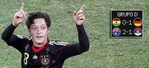 Final adelantada: Alemania-Inglaterra en octavos