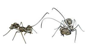 Una hormiga de piedra que es una obra de arte (y viceversa)