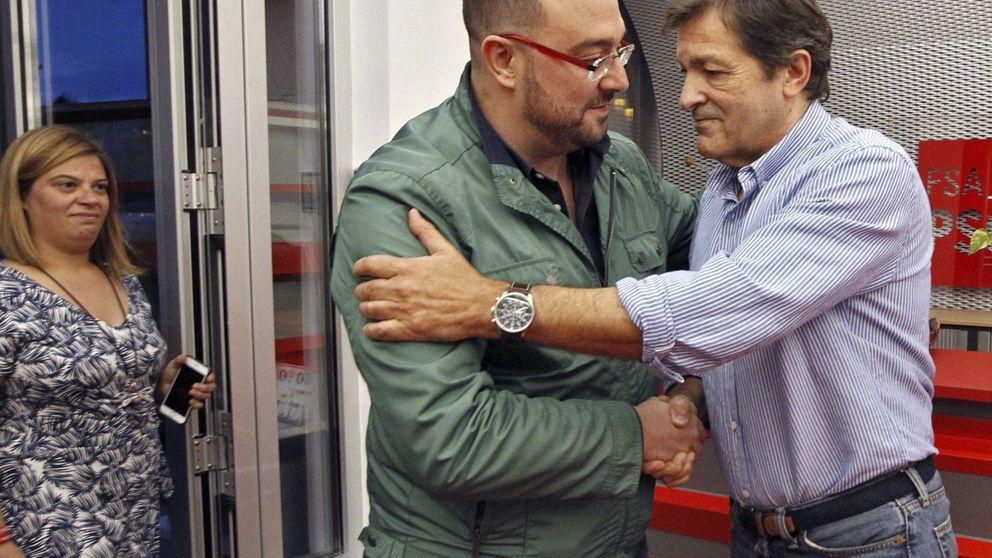 El triunfo del candidato sanchista en Asturias impone una difícil bicefalia con Fernández