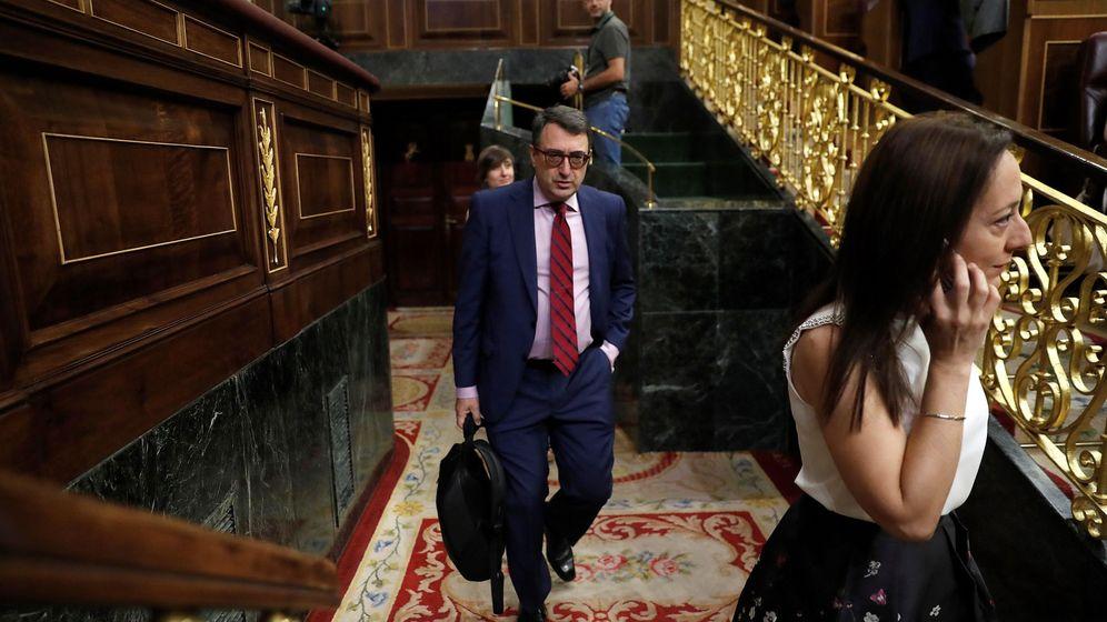 Foto: El portavoz del PNV, Aitor Esteban, en el Congreso.EFE Juan Carlos Hidalgo