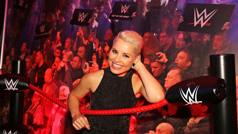 Foto: Soraya Arnelas, madrina del show WWE de lucha libre en Barcelona (Vanitatis)