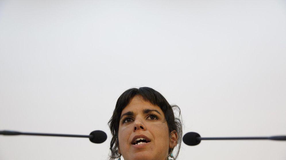 Foto: Teresa Rodríguez, secretaria general de Podemos en Andalucía (Reuters)