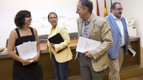 El AVE divide Navarra y amenaza con llevarse por delante al Gobierno de Barkos