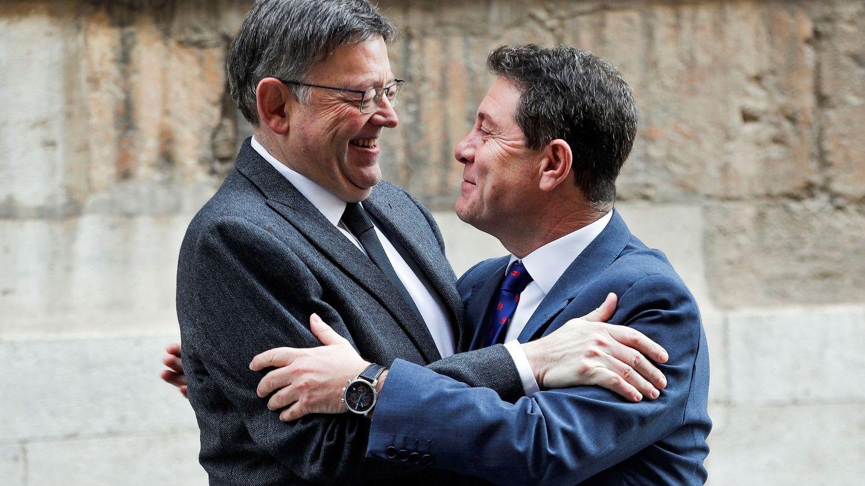 Puig suma a Page al frente de barones del PSOE que piden a Rajoy quita de la deuda