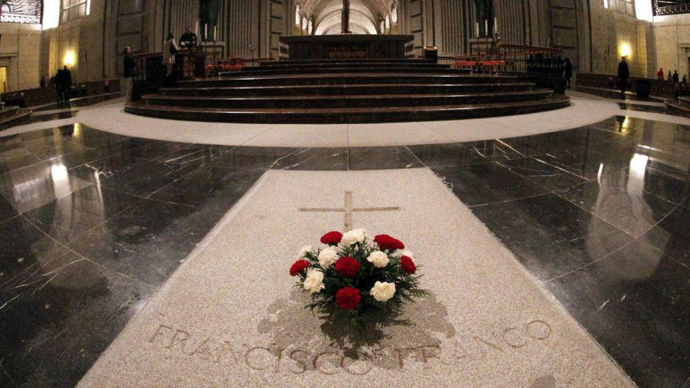 Foto: Tumba de Francisco Franco en el Valle de los Caídos. (EFE)