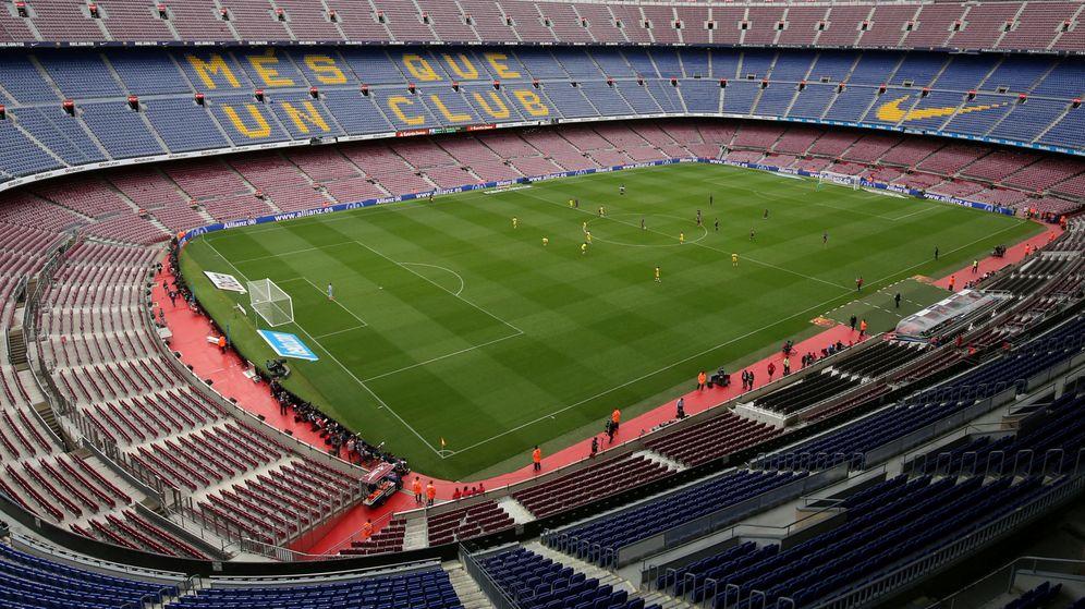 Foto: Imagen del Camp Nou durante el FC Barcelona-UD Las Palmas jugado el 1 de octubre de 2017. (Reuters)