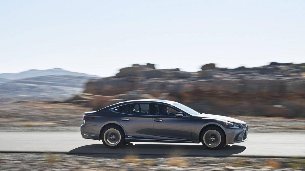 Lexus LS 500h, más personalidad para la berlina de lujo