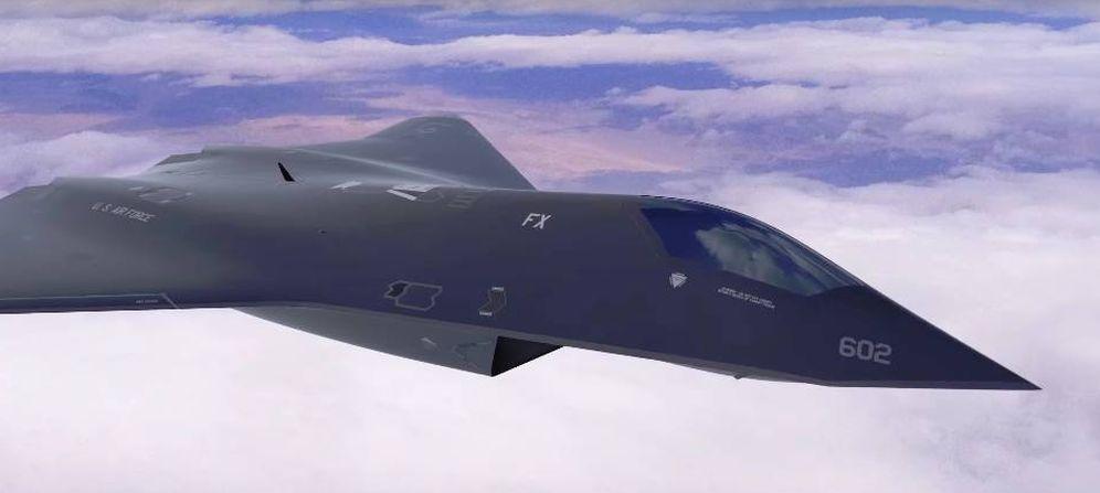 Foto: Recreación de cómo será el futuro caza de 6ª generación de EEUU. (Imagen: US Air Force/YouTube)