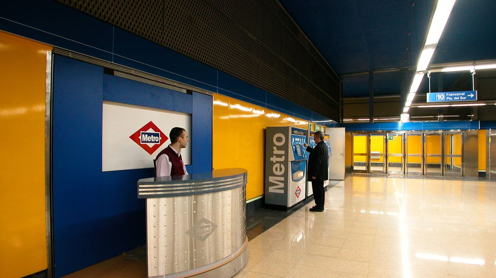 Foto: Puesto de Atención al Cliente de Metro de Madrid (Foto: Metro Madrid)
