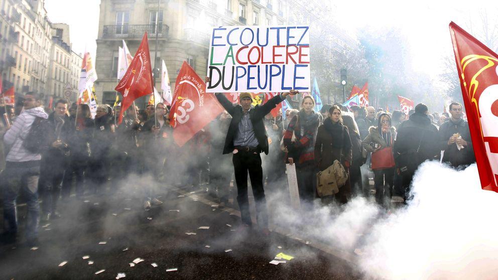 Sindicatos franceses: dirigidos por corruptos y 'untados' por la patronal