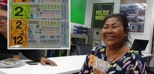 Post de Dona parte de su premio de la lotería a la caridad y le tocar otra vez al año siguiente