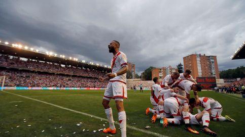 El Rayo Vallecano sella su ascenso a Primera División tras dos años en 'el infierno'