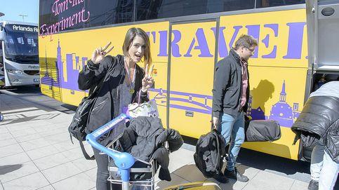 Barei llega a Estocolmo con su novio muy presente: Es mi principal amuleto