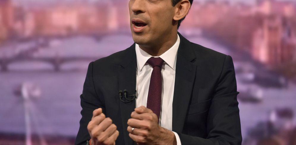 Foto: El ministro de Economía británico, Rishi Sunak. (Reuters)