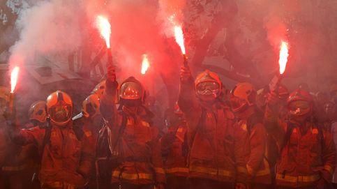 La falta de gestión le estalla a Torra: los CDR incendian la huelga contra el Govern