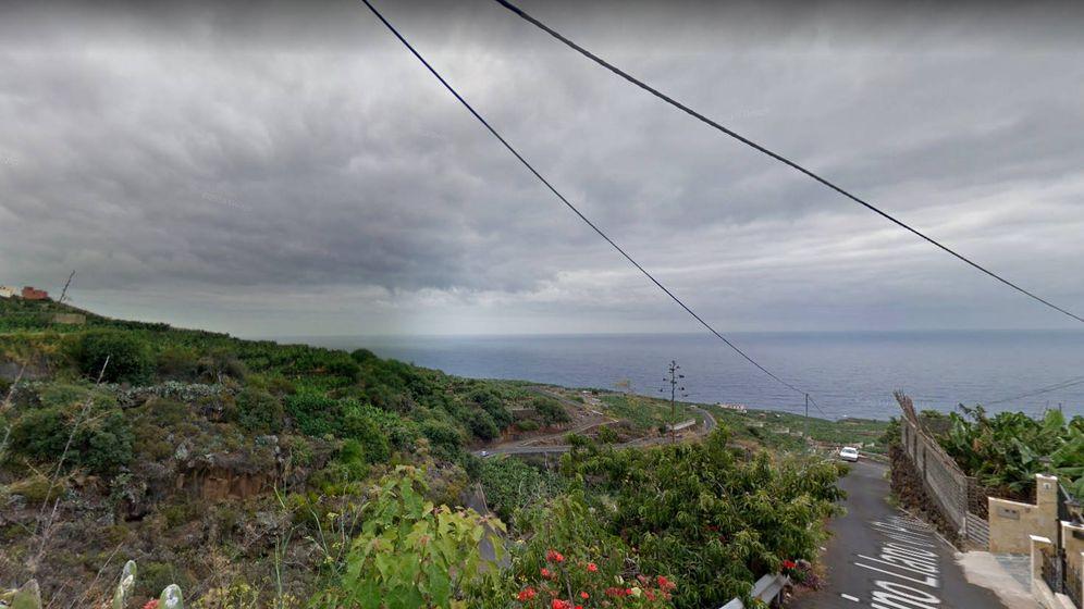 Foto: La zona de Las Lomadas tiene muchos tramos estrechos y con barrancos cercanos (Foto: Google Maps)