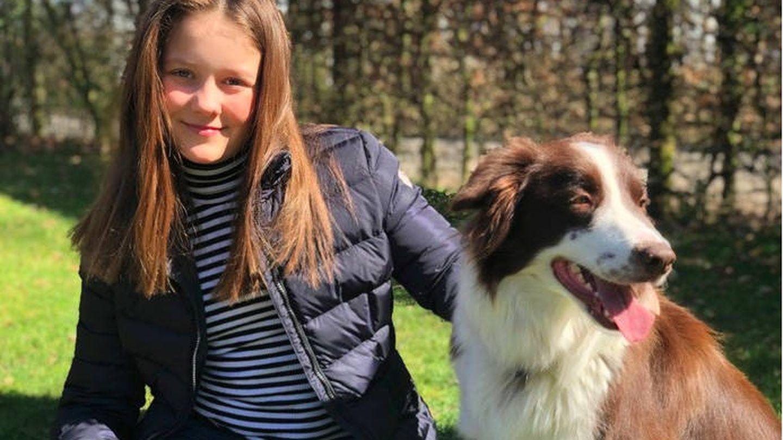 Isabella en su 12 cumpleaños. (Casa Real Danesa)