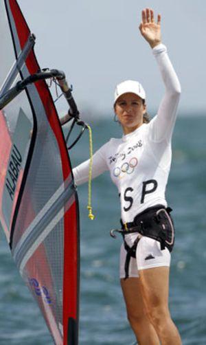 Marina Alabau se quedó a las puertas de una medalla al ser cuarta