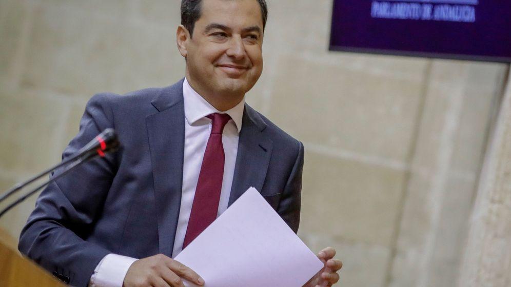 Foto:  El presidente de la Junta de Andalucía Juanma Moreno. (EFE)