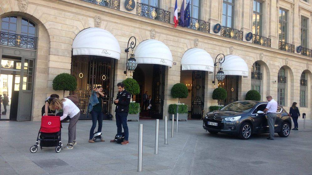 Foto: Fachada del hotel Ritz de París. (S. Taulés)