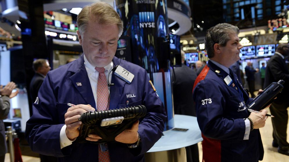Foto: Traders en Wall Street (Efe)
