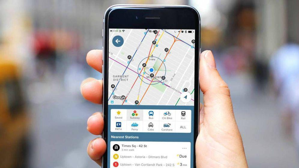 Foto: Citymapper añade al callejero rutas de transporte público. (Cittymapper)