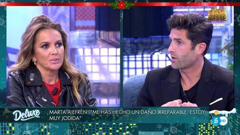 Martá López estalla contra Efrén por su recital de mentiras en 'Sábado Deluxe'