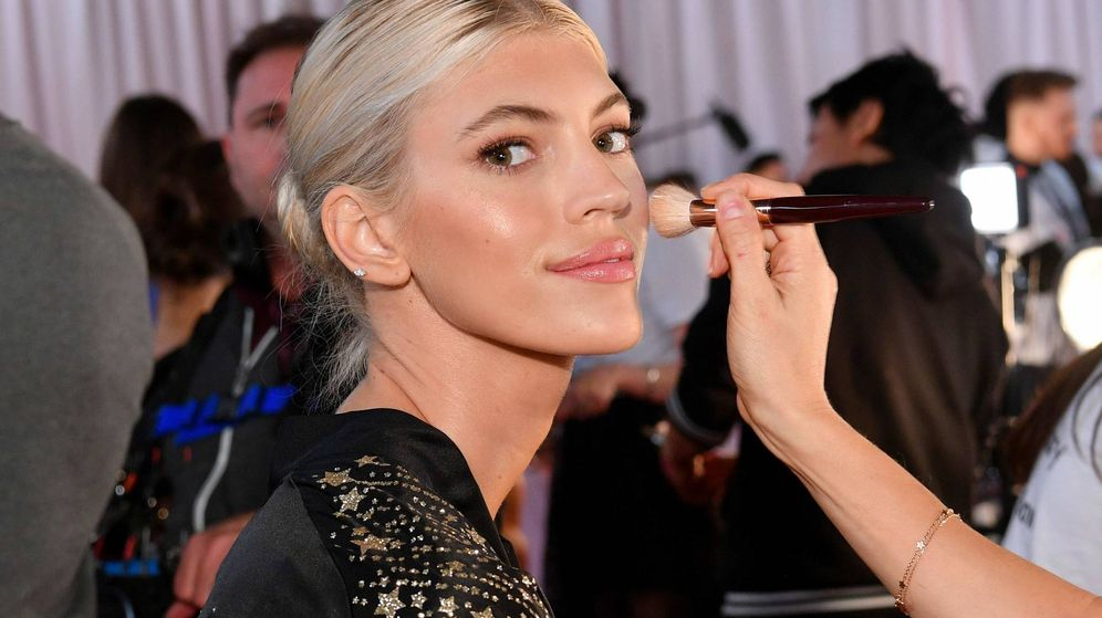 Foto: Devon Windsor en en el último desfile de Victoria's Secret (Getty Images)