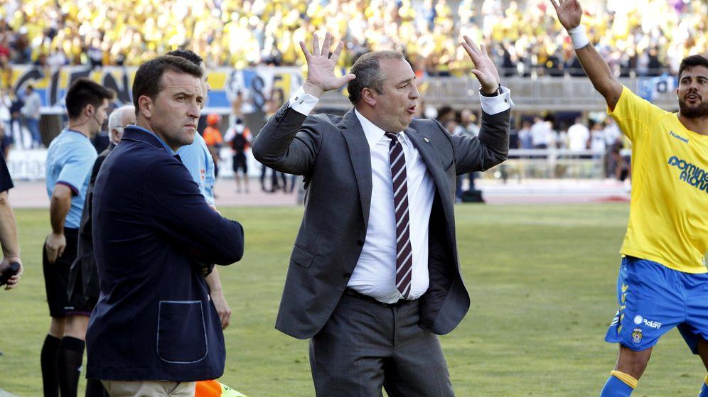 Foto: El presidente de la UD Las Palmas, Miguel Ángel Ramírez. (EFE)