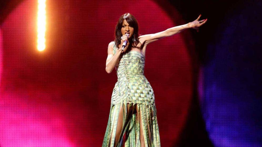 Foto: Dana International durante una actuación. (Agencias)