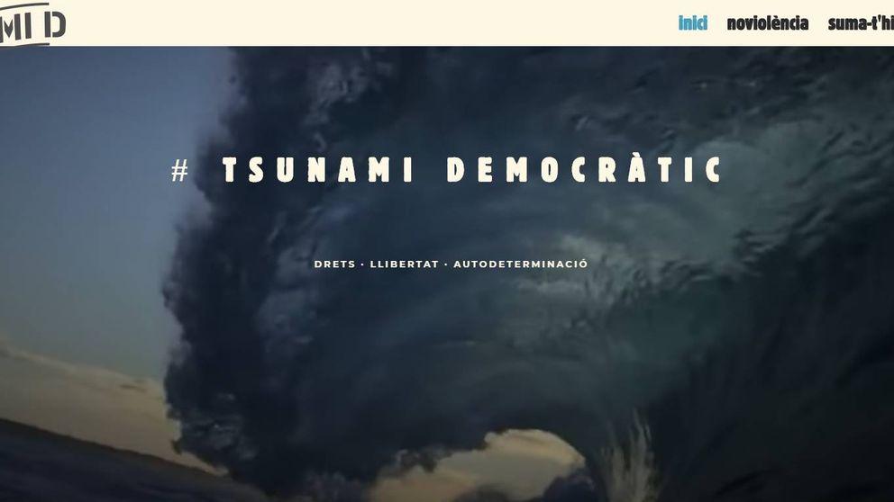 La Guardia Civil cierra las páginas de Tsunami Democràtic
