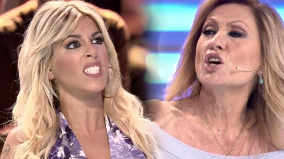 Foto: Oriana y Rosa Benito vuelven a enzarzarse en una discusión en 'Supervivientes' (Mediaset España)