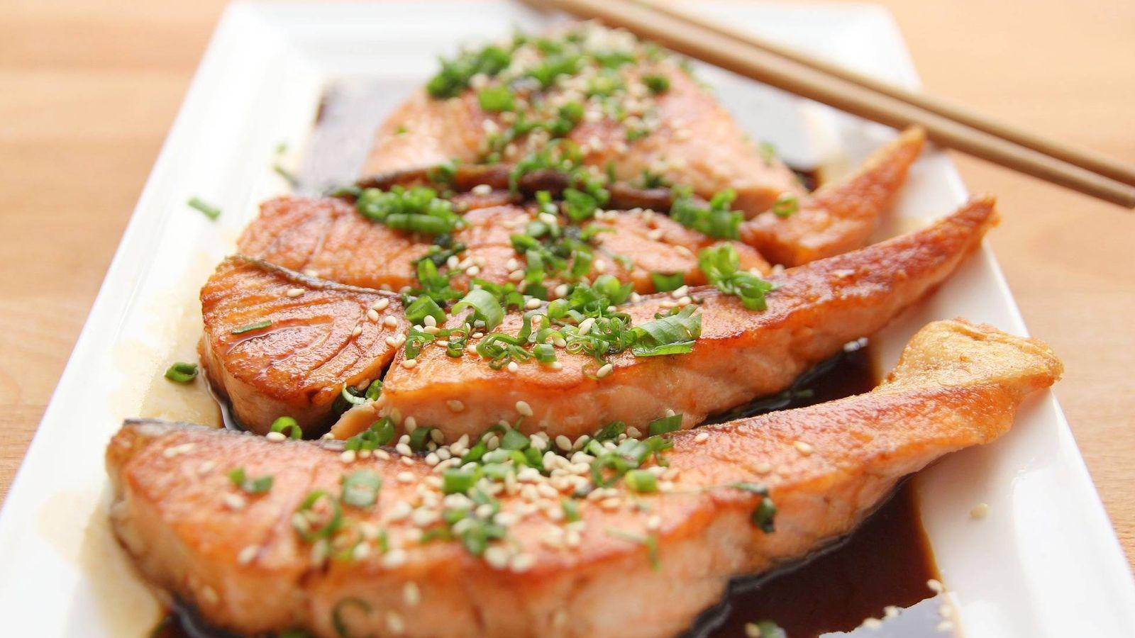 Foto: Filetes de salmón. (Pixabay)