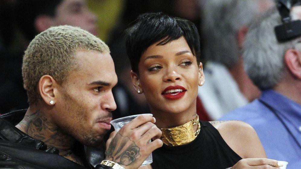 Foto: Chris Brown y Rihanna en una foto de archivo. (Gtres)