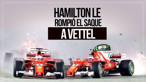 La imagen que Vettel y Ferrari lamentarán durante mucho tiempo