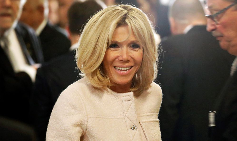 Foto: Brigitte Macron en una imagen de archivo. (Gtres)